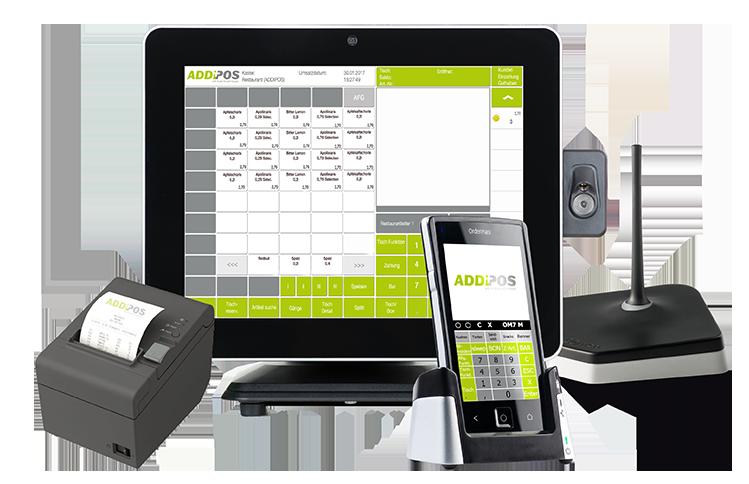 ADDIPOS Hardware für Kassensysteme